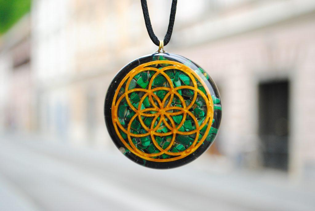 orgonit ogrlica amulet
